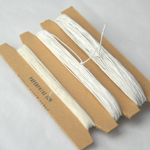 PaperPhine's White Shades - Paper Yarn in Finest Qualitites