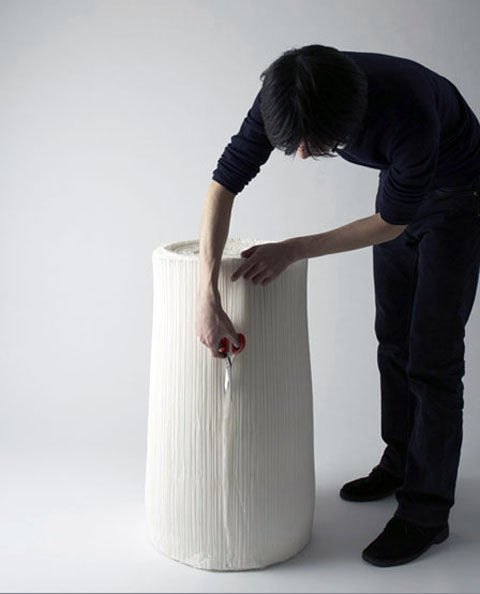 Nendo: Cabagge Chairs 