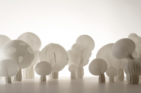 blown-fabric by Nendo