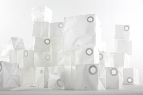 cube letter set by kyouei design