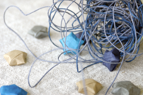 PaperPhine&#039;s Blue Paper Twine