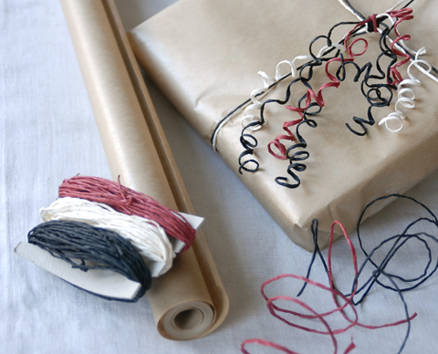 PaperPhine's Paper Twine in Red, White and Black