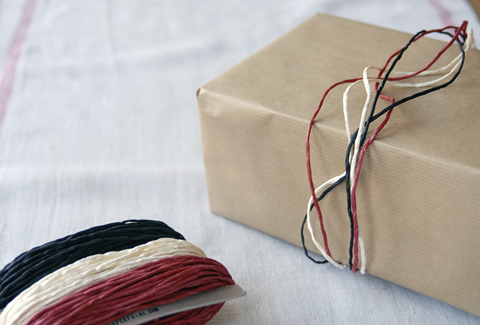 PaperPhine&#039;s Paper Twine in Red, White and Black