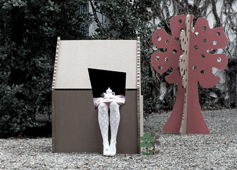 Cardboard Playhouse by A4Adesign