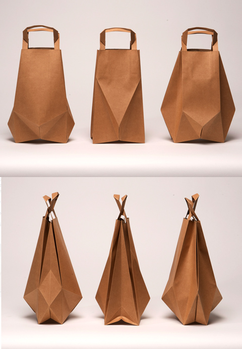 Paper Bags by Ilvy Jacobs