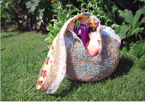 PaperPhine: Crochet Summer Bag