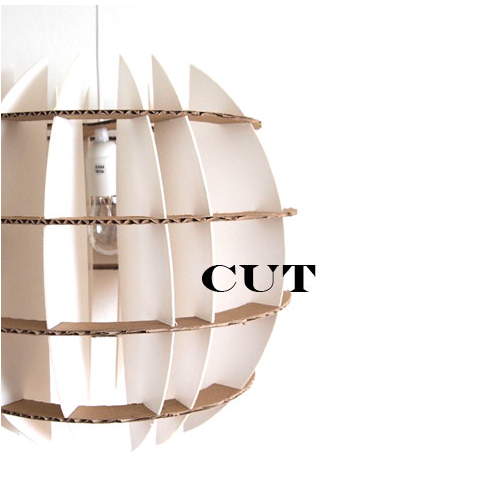 CUT light shade by Umlaute Designbureau (designed by Dea Simonsen)