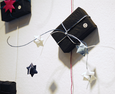 PaperPhine: Gift wrapping with paper twine