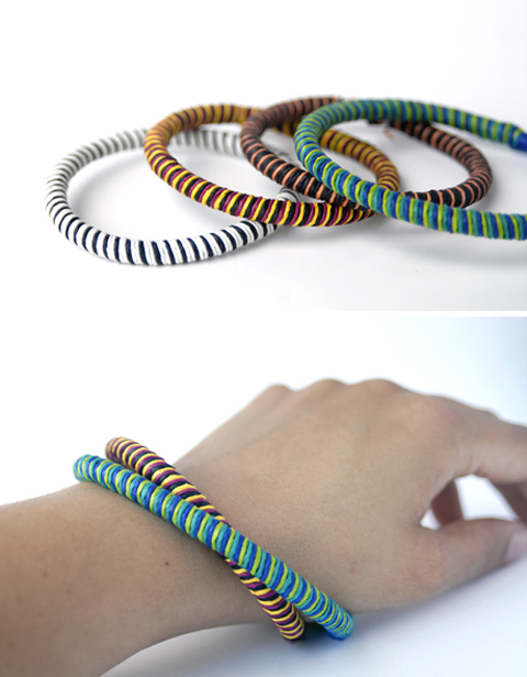 PaperPhine's Paper Twine Bangle - DIY