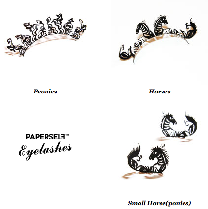 Paperself&#039;s Papercut Eyelashes