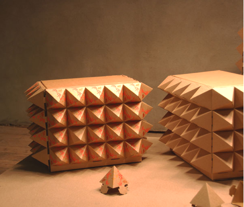 Paperself: Transformer Furniture 
