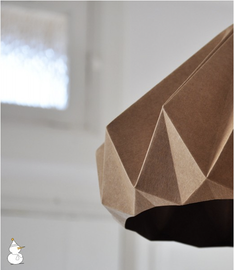 Chestnut Lampshade by Studio Snowpuppe