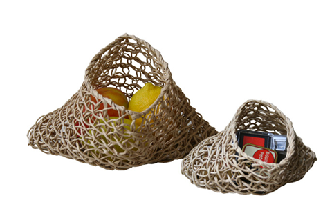BEST BEFORE Paris: Paper Cord Vessels, Baskets and Bags