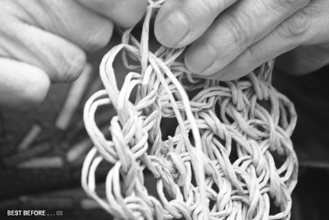 BEST BEFORE Paris: Paper Cord Vessels and Bags: Making of...