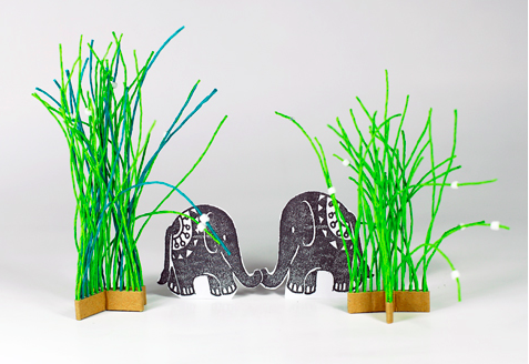 PaperPhine: Some Grass for the Elephants, please!