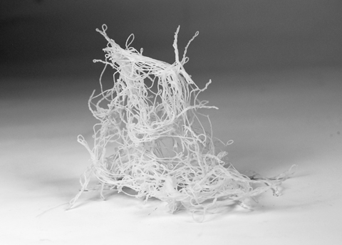 What happens if paper yarn gets wet