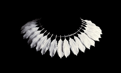 "PaperPhine Anne Franke: Paper Jewelry Collection ""Blanc de Neige"""