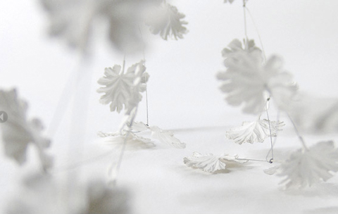 "Anne Franke: Paper Jewelry Collection ""Blanc de Neige"""