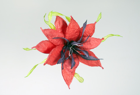 PaperPhine: Paper Flowers made of Paper Twine