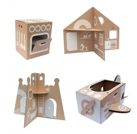 flatout frankie: cardboard toys and children&#039;s furniture