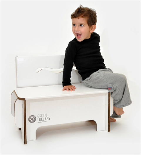 Found in the Pappdorf Store: Cardboard Furniture for Children and Toys
