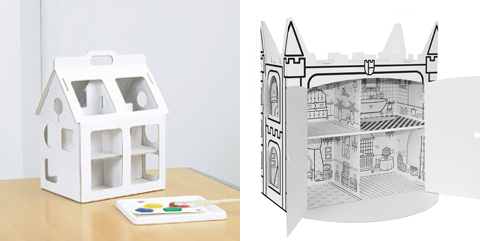 Dollhouse made of Cardboard