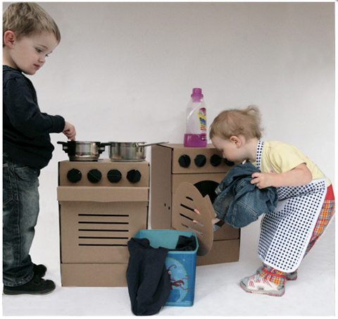 Found in the Pappdorf store: Cardboard Furniture and Toys