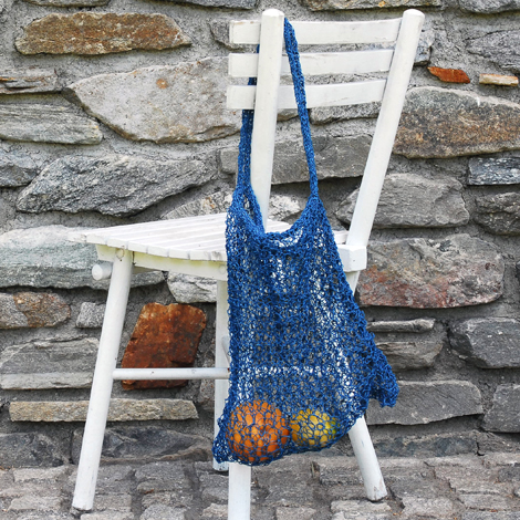 Made by PaperPhine: A Knitted Paper Twine Tote Bag