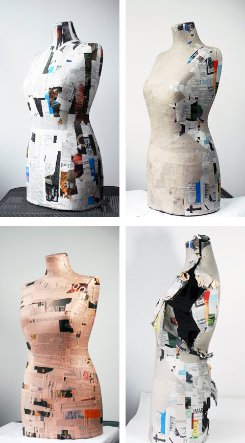 PaperPhine: Paper Dress Form
