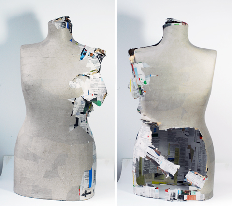 PaperPhine: A New Paper Dress Form