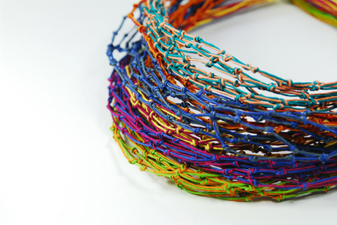 Made by PaperPhine: KNOT Paper Twine Jewellery Prototypes