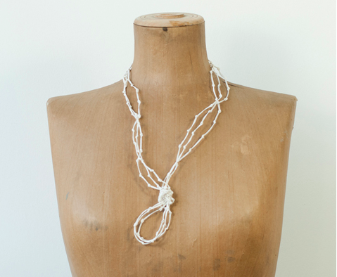 PaperPhine: KNOT Paper Twine Jewelry - Paper Jewelry