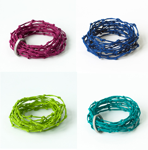 Made by PaperPhine: the new KNOT bracelets with and without latches