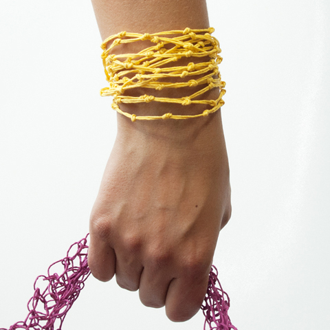 Made by PaperPhine: KNOT Bracelets made of Paper Twine