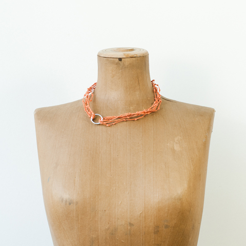 KNOT Necklace: Made by PaperPhine
