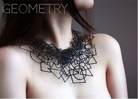 PaperPhine: Air Tattoo: Paper Necklaces by Logical Art