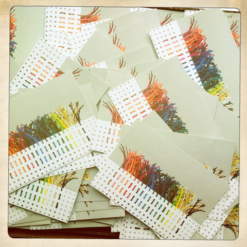 PaperPhine's New Paper Twine Postcards