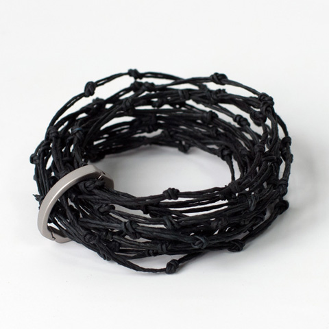PaperPhine KNOT Bracelet - Made of Paper Twine