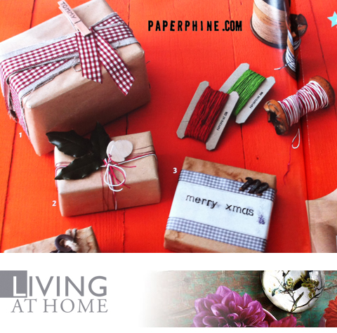 PaperPhine in the Living at Home Magazine