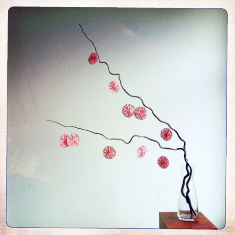 Made by PaperPhine: Paper Twine Circles / Garland / DIY Instructions