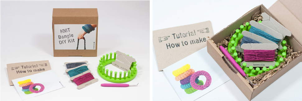 PaperPhine: DIY Knit Kit