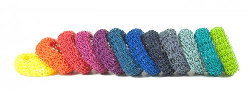 PaperPhine: DIY Kit Knit Bangles