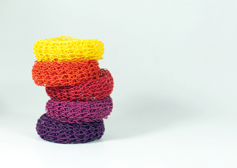 PaperPhine DIY Knit Bangle Kit with Paper Twines