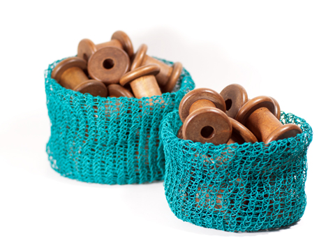 PaperPhine DIY Kit: Knit Basket - Paper Twine