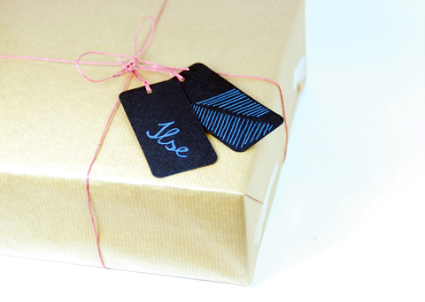 PaperPhine: Gift Wrap with Paper Twine