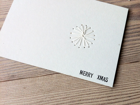 PaperPhine: Holiday Card with Paper Twine