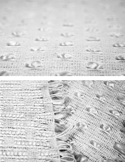 Made by PaperPhine: Paper Twine Weaving: Woven Paper Twine and Raw Silk