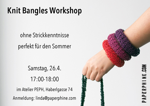 FESCH Workshop: Knit Bangles in April
