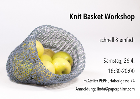 FESCH Workshop: Knit Baskets