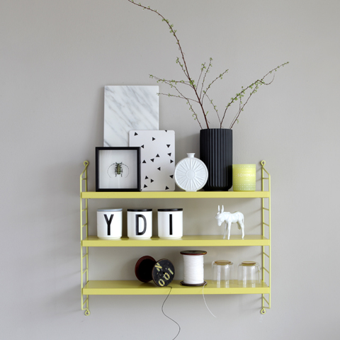 Lys Vintage: String Shelf with PaperPhine Paper Yarn